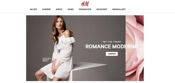 H&M web