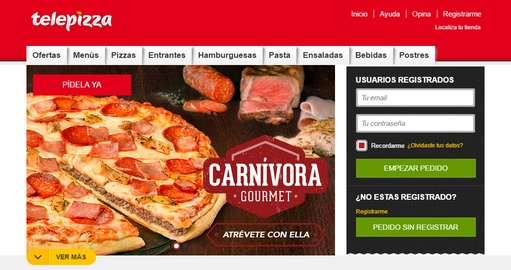 telepizza web