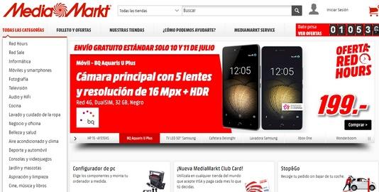 media markt web